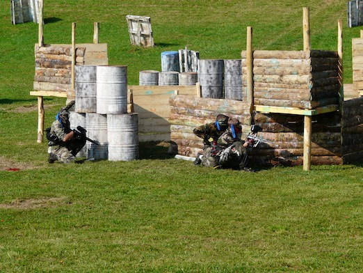 38 beaucroissant paintball park for Paintball lyon exterieur