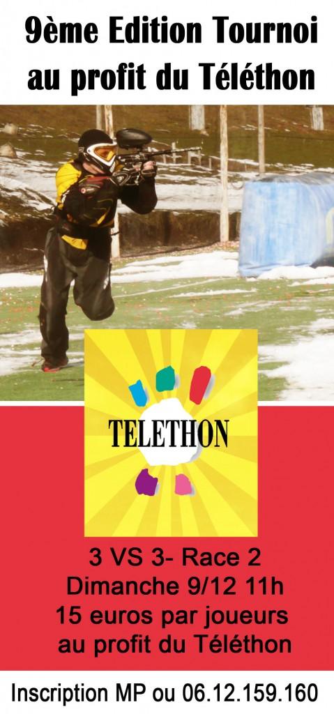 9 eme tournoi de paintball téléthon organisé par paintball park