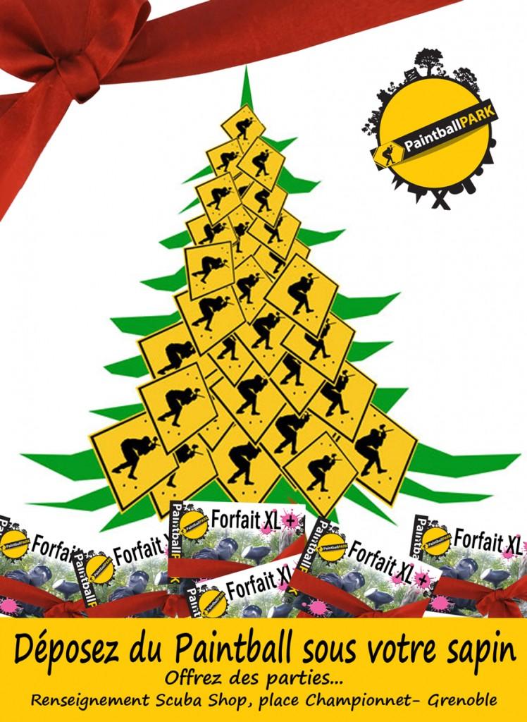 cadeau paintball noel 2013